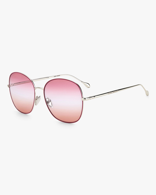 Isabel Marant Violet Oval Sunglasses 1
