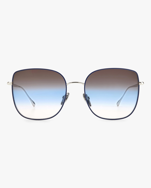 Isabel Marant Silver Square Sunglasses 1