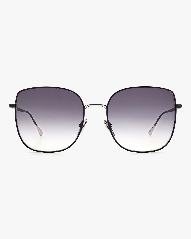 Isabel Marant Black Square Sunglasses 1