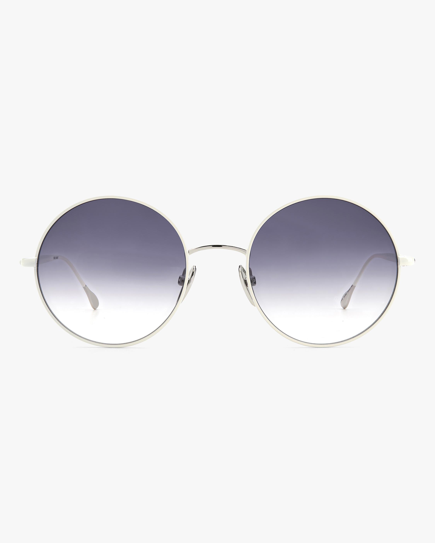 Isabel Marant Ivory Oval Sunglasses 1