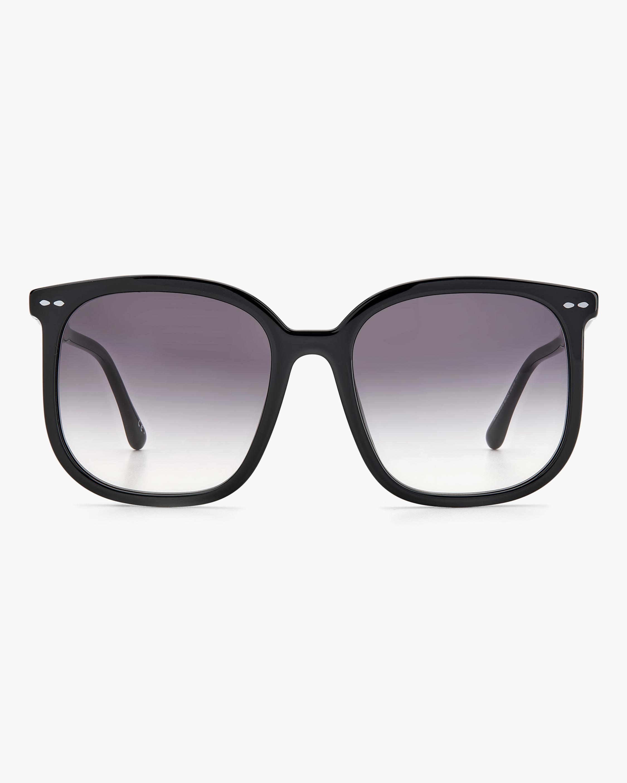 Isabel Marant Black Square Sunglasses 0