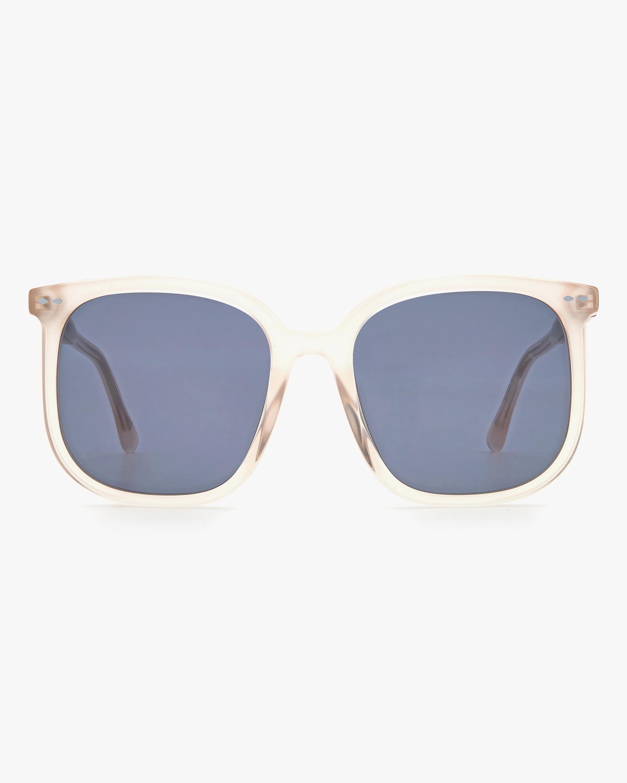 Isabel Marant Nude Square Sunglasses 0