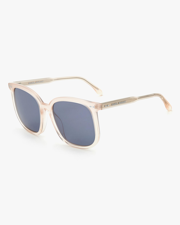 Isabel Marant Nude Square Sunglasses 1