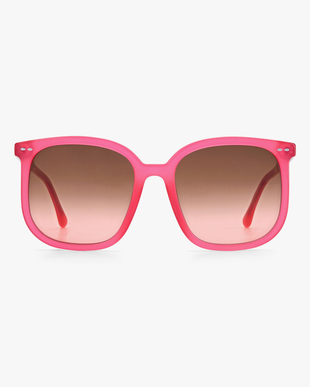 Isabel Marant Fuchsia Square Sunglasses 0