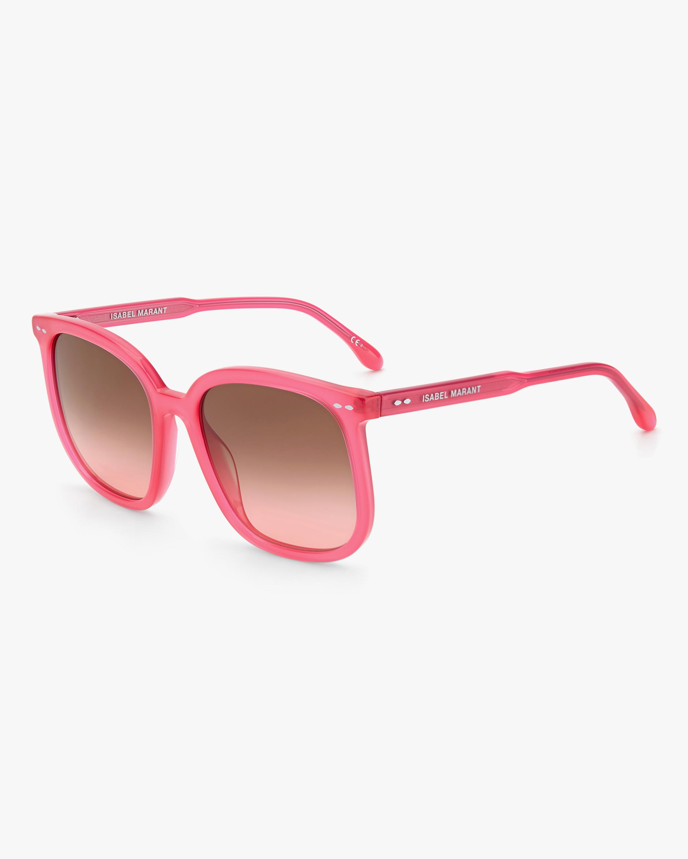 Isabel Marant Fuchsia Square Sunglasses 1