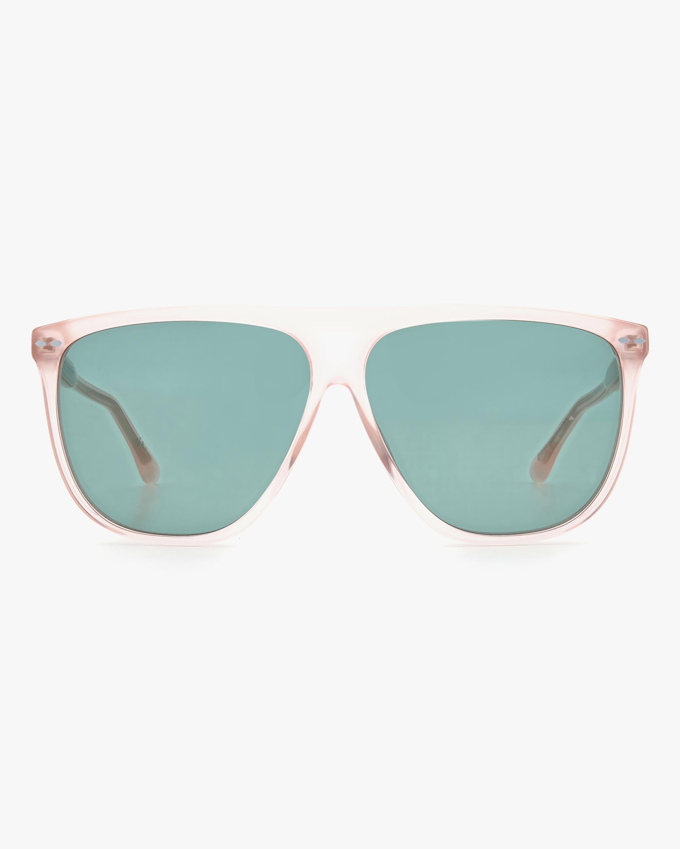 Isabel Marant Pink Modified Aviator Sunglasses 1