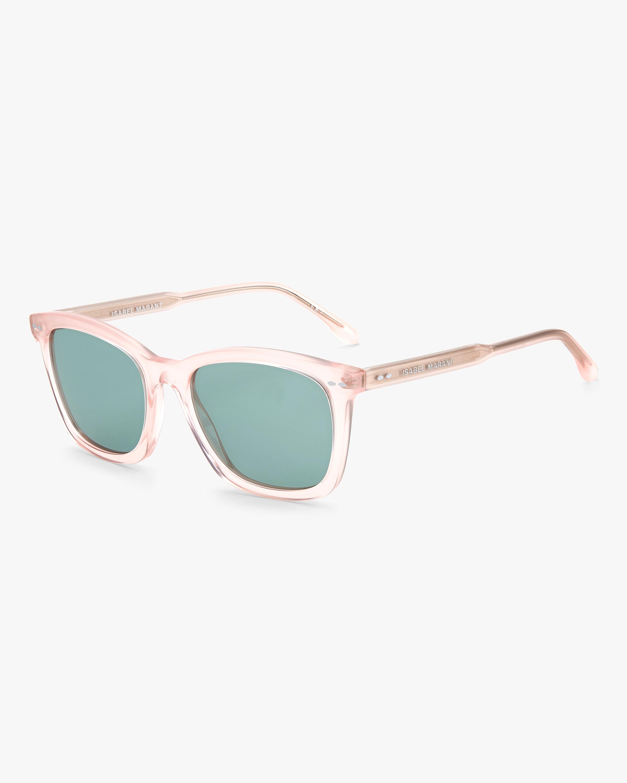 Isabel Marant Pink Rectangle Sunglasses 1