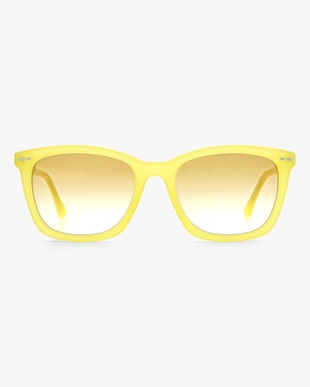 Isabel Marant Yellow Rectangle Sunglasses 1