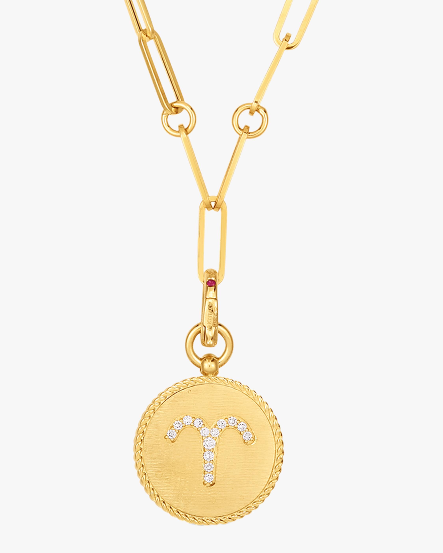 Roberto Coin Aries Diamond Pendant Necklace 1