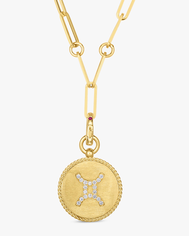 Roberto Coin Gemini Diamond Pendant Necklace 0