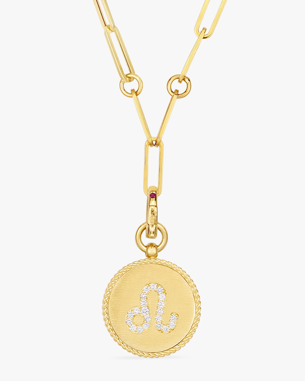 Roberto Coin Leo Diamond Pendant Necklace 0