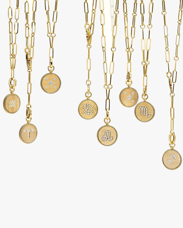 Roberto Coin Virgo Diamond Pendant Necklace 3