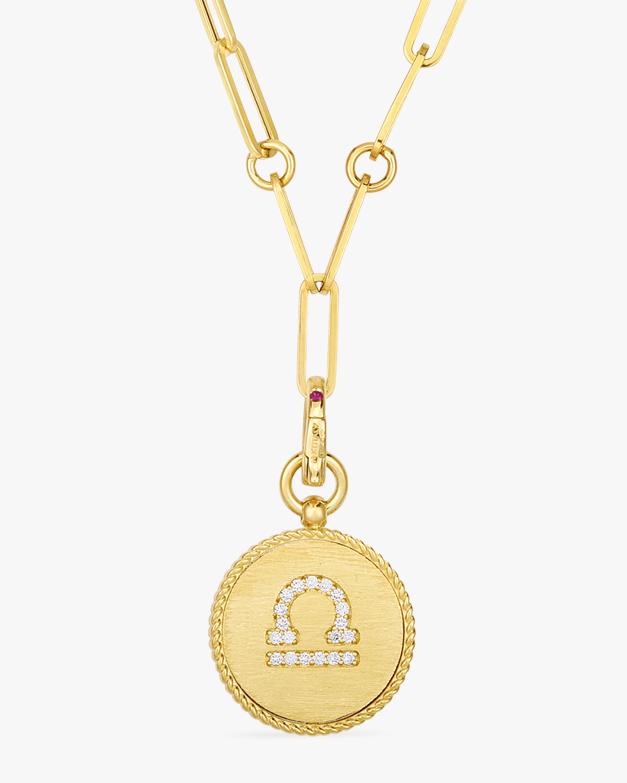 Roberto Coin Libra Diamond Pendant Necklace 1