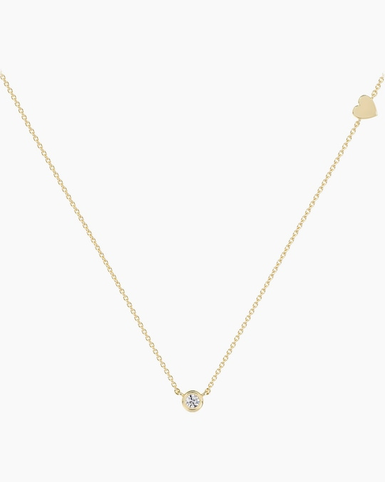 De Beers Forevermark The Forevermark Tribute™ Collection Heart Diamond Necklace 0