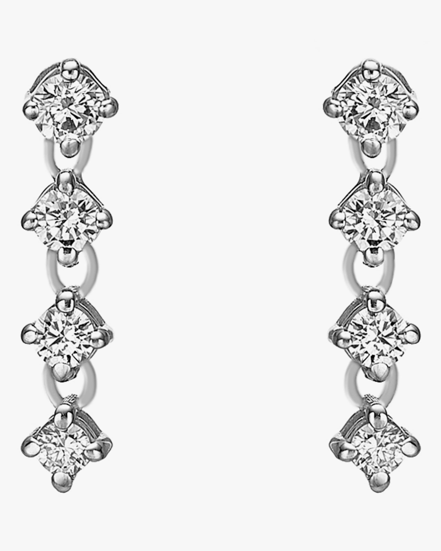 Chérut Chained Brilliant Diamond Earrings 1