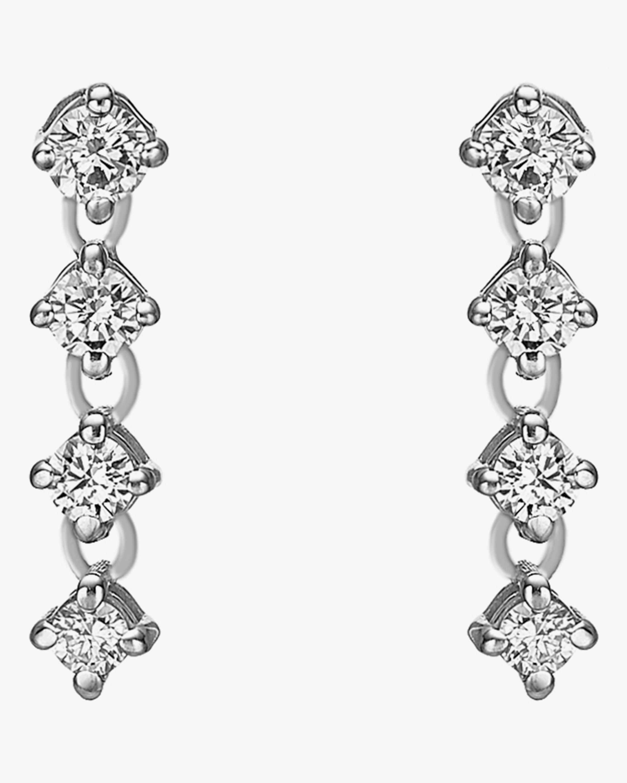 Chérut Chained Brilliant Diamond Earrings 0