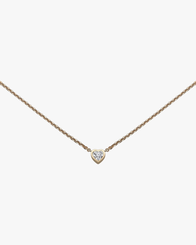 Chérut Heart Diamond Pendant Necklace 0
