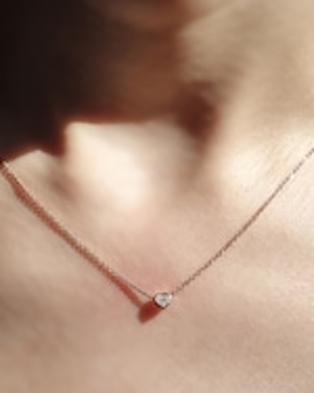 Chérut Heart Diamond Pendant Necklace 1