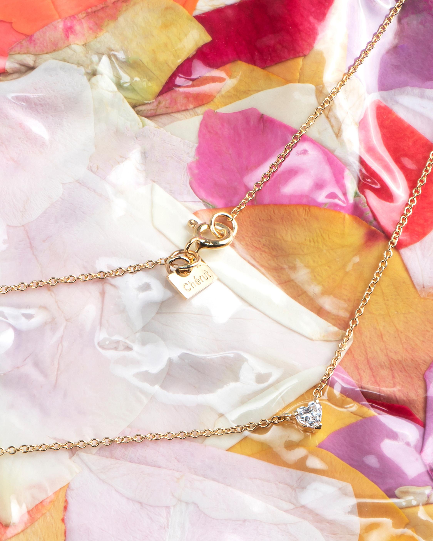 Chérut Heart Diamond Pendant Necklace 2