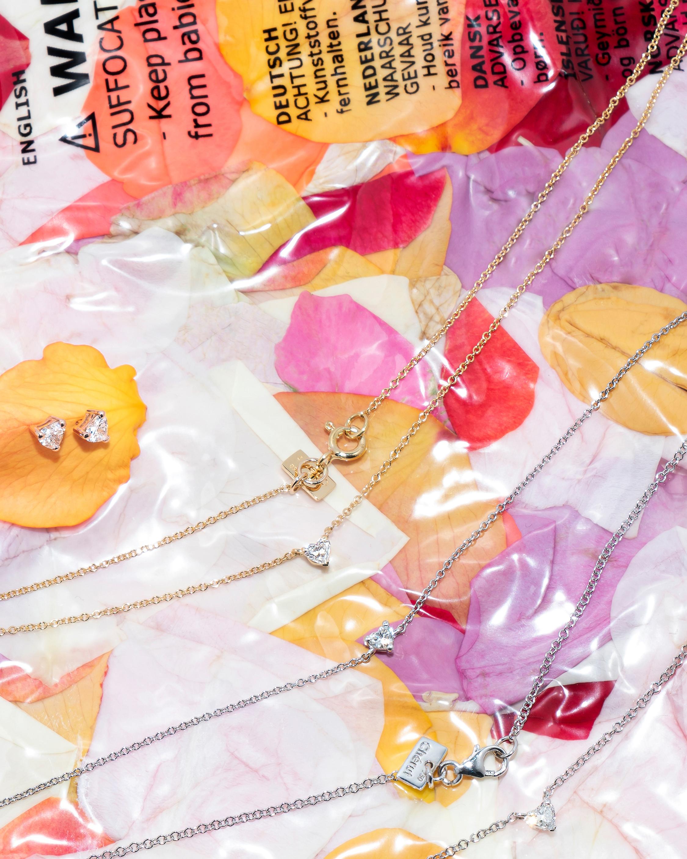 Chérut Heart Diamond Pendant Necklace 3