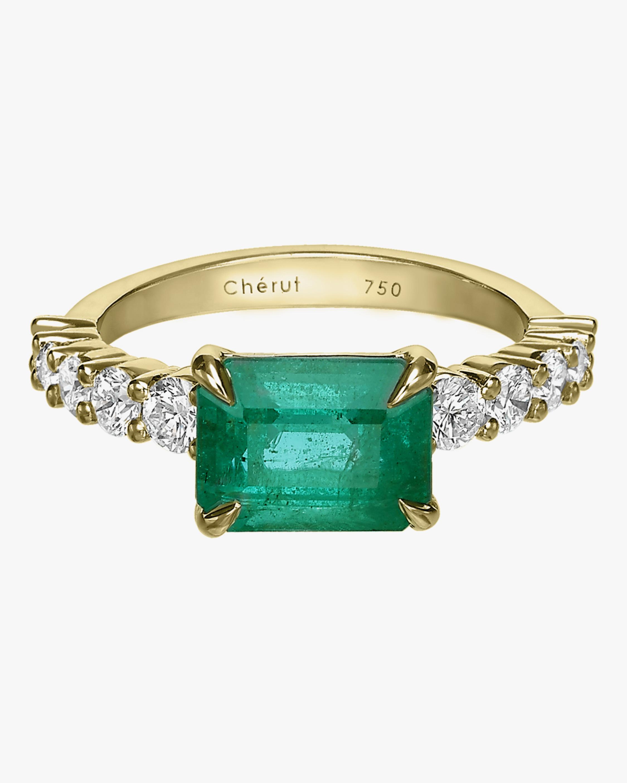 Royal Emerald & Diamond Ring