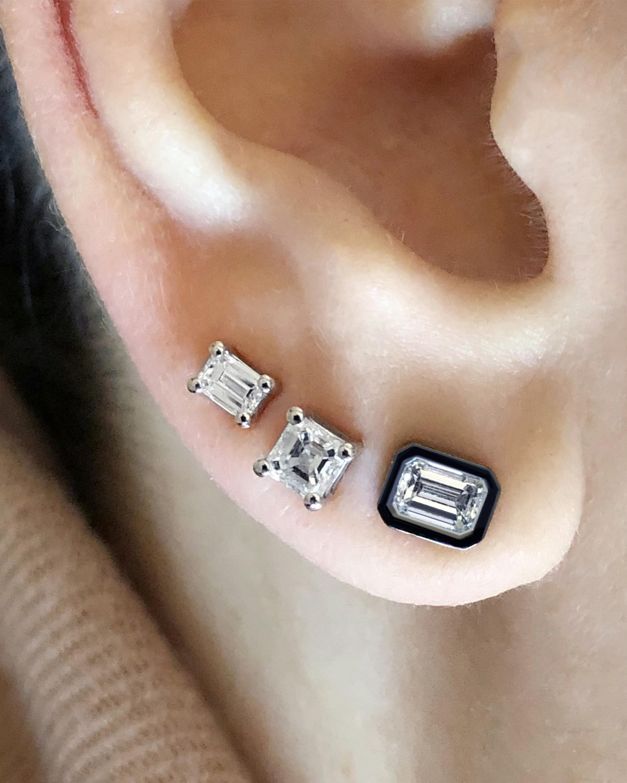 Chérut Single Asscher-Cut Diamond Earring 2