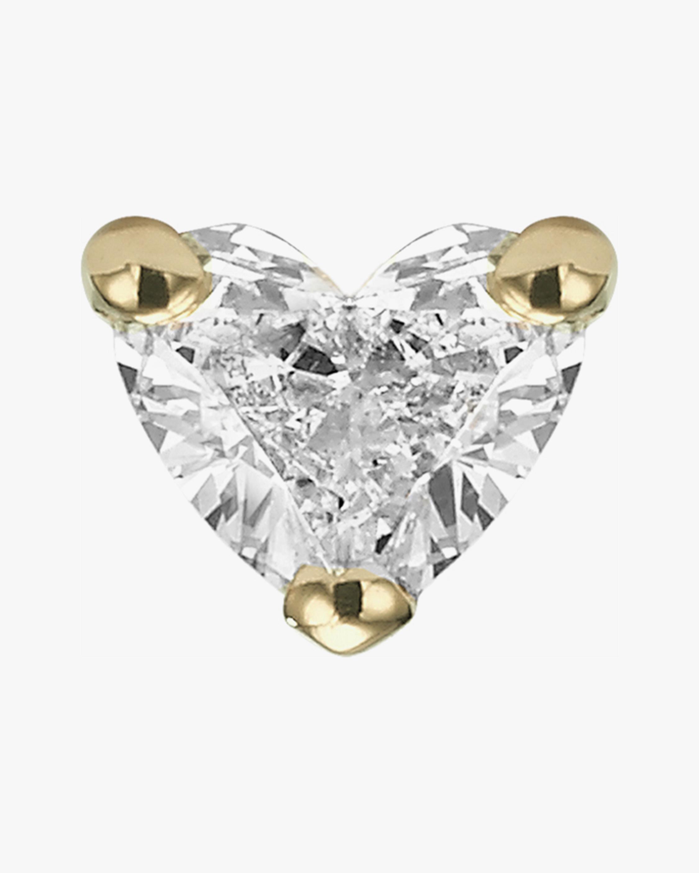 Chérut Single Heart Diamond Earring 0
