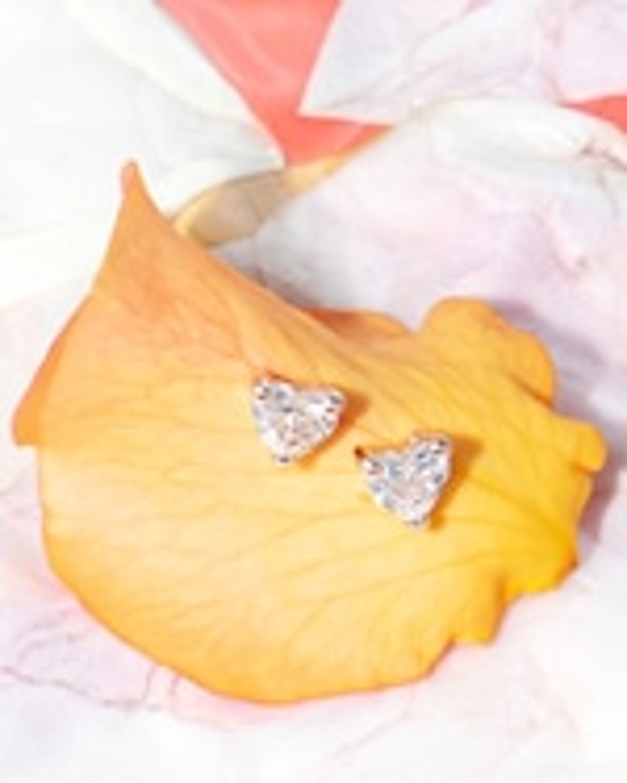 Chérut Single Heart Diamond Earring 3