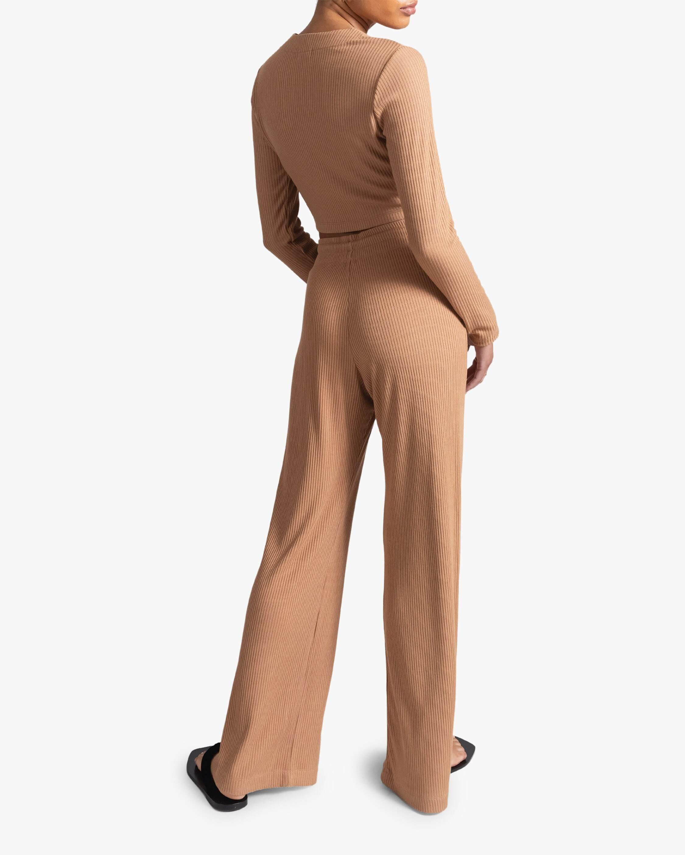 Leset Ali Drawstring Wide-Leg Pant 4