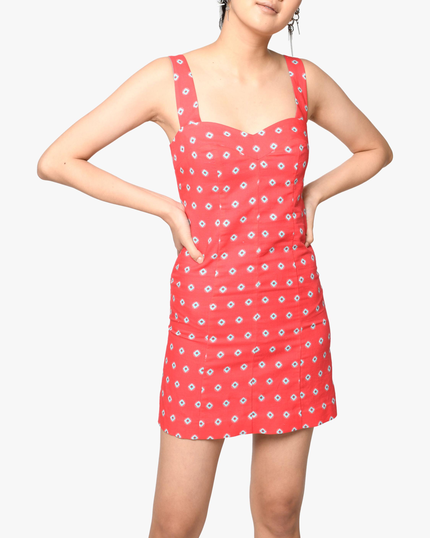 Nicole Miller Sunset Star Linen Mini Dress 2