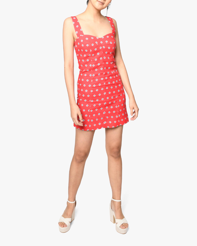 Nicole Miller Sunset Star Linen Mini Dress 1