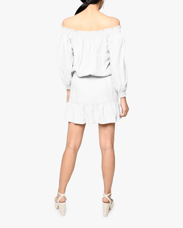Nicole Miller Linen Off-Shoulder Dress 2
