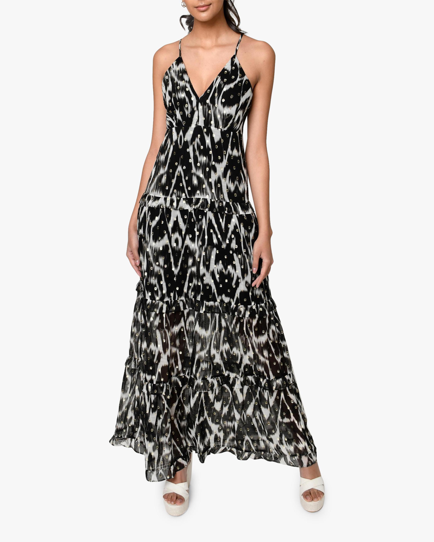Nicole Miller Ikat Maxi Dress 1