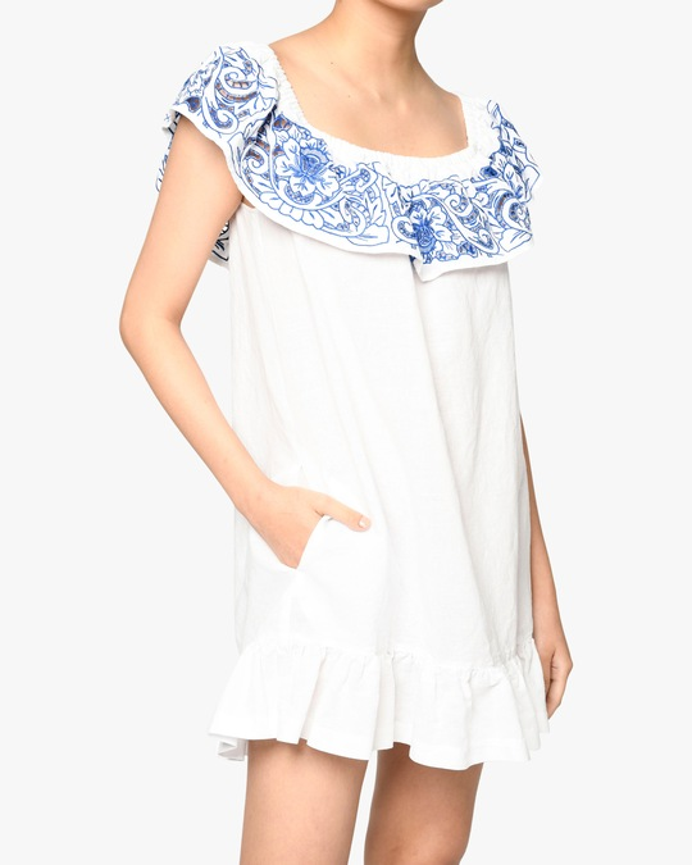 Nicole Miller Magnolia Lei Off-Shoulder Dress 1