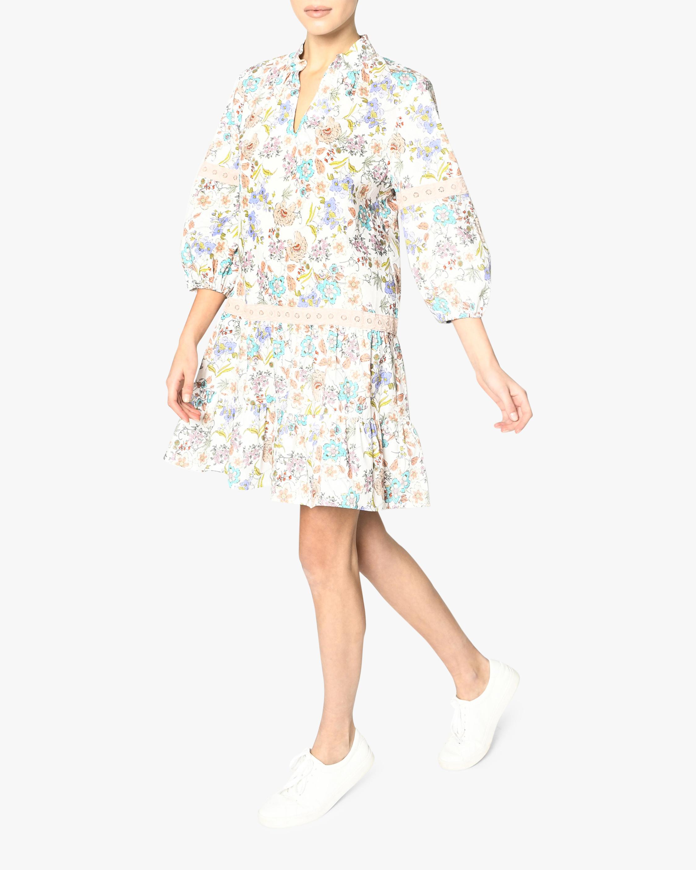 Nicole Miller Jasmine Floral Shift Dress 2