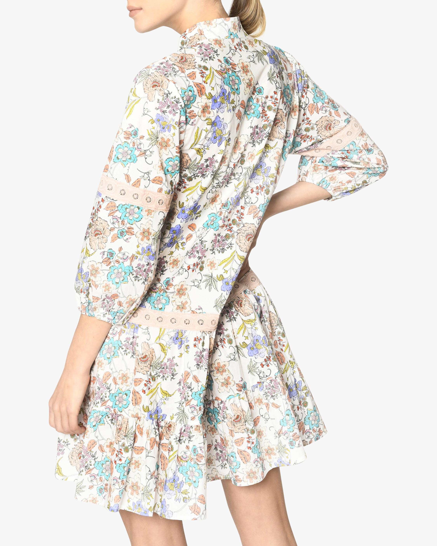 Nicole Miller Jasmine Floral Shift Dress 4