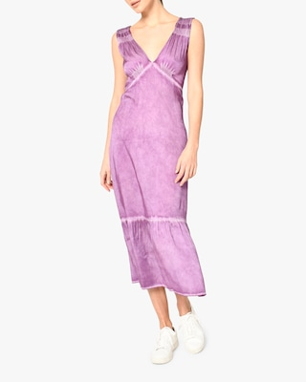 Nicole Miller Charmeuse Midi Dress 1