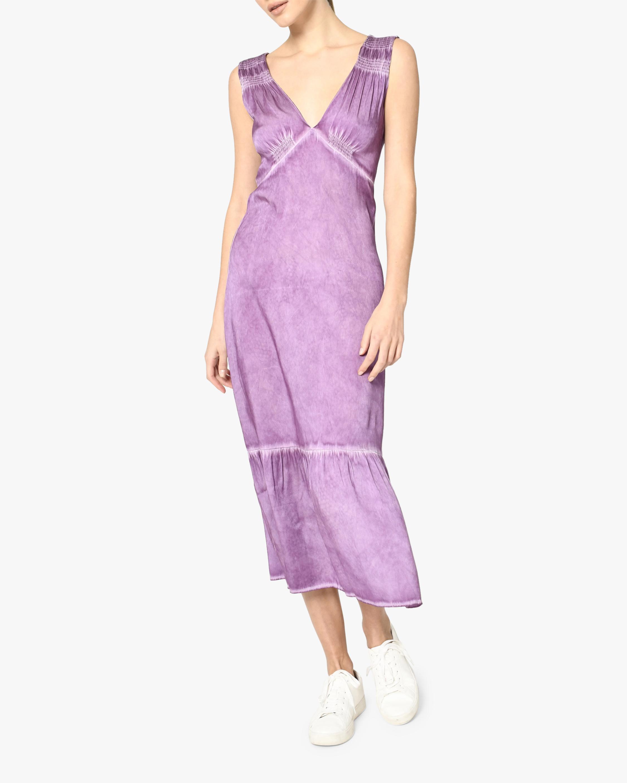 Nicole Miller Charmeuse Midi Dress 0