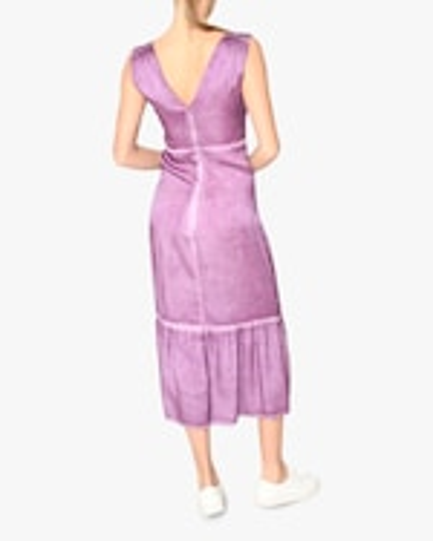 Nicole Miller Charmeuse Midi Dress 2