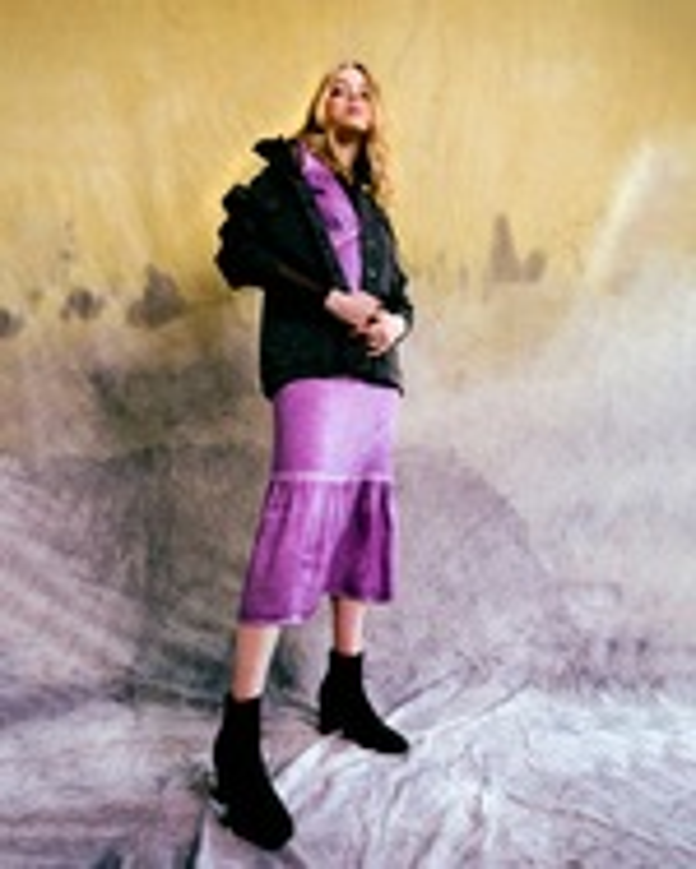 Nicole Miller Charmeuse Midi Dress 3