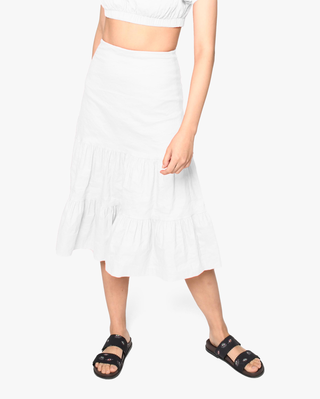 Nicole Miller Tiered Midi Skirt 1