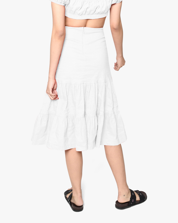 Nicole Miller Tiered Midi Skirt 2