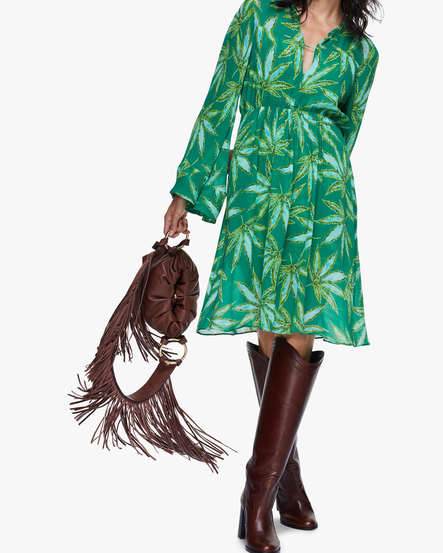 Dorothee Schumacher Translucent Leaves Dress 2