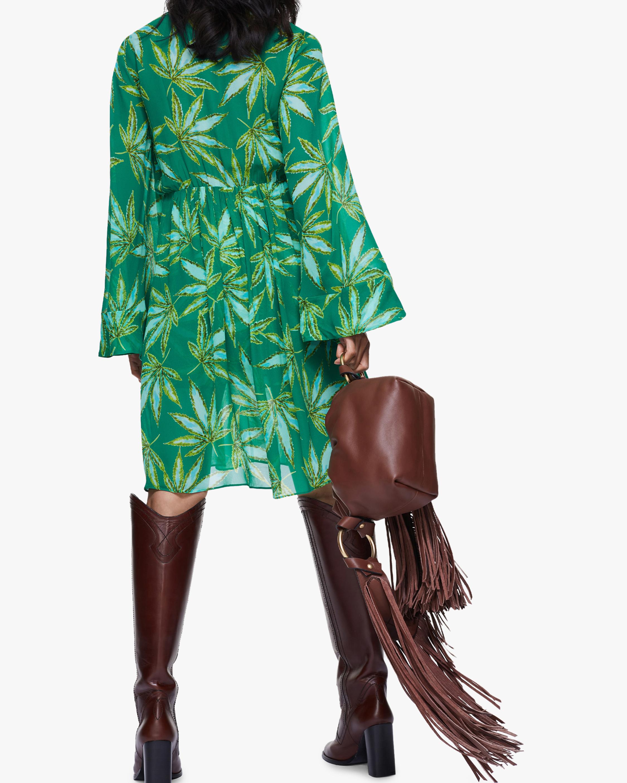 Dorothee Schumacher Translucent Leaves Dress 3