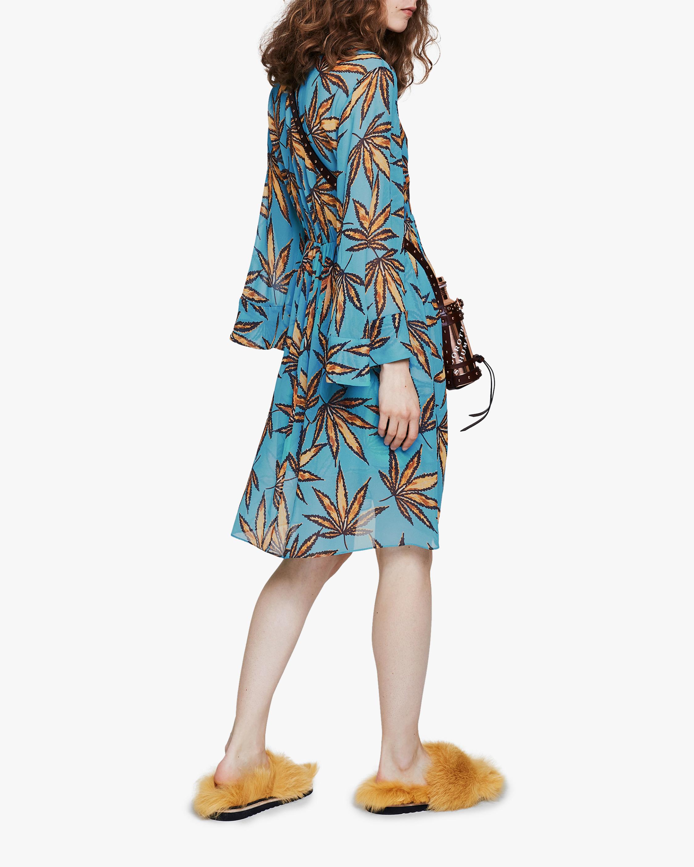 Dorothee Schumacher Translucent Leaves Dress 1