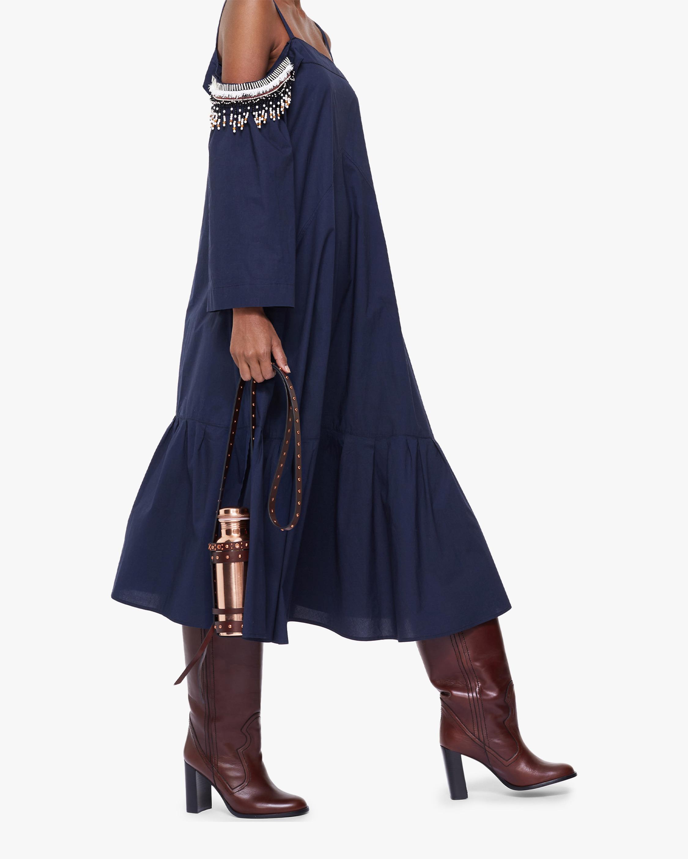 Dorothee Schumacher Fantasy Poplin Off-Shoulder Dress 2