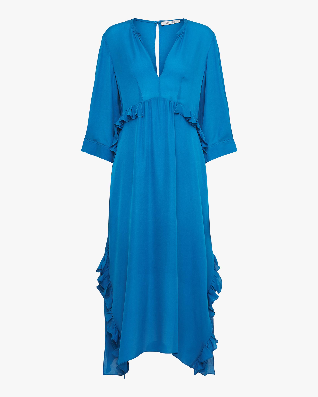 Fluid Luxury Shirt Dress