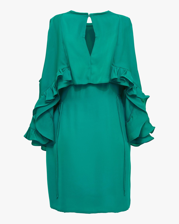 Dorothee Schumacher Fluid Luxury Cold Shoulder Dress 2