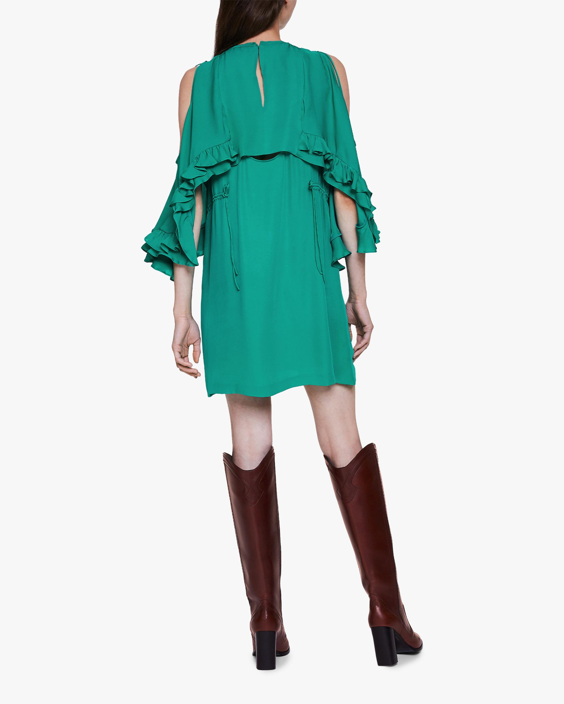 Dorothee Schumacher Fluid Luxury Cold Shoulder Dress 3