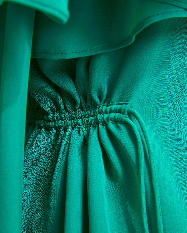 Dorothee Schumacher Fluid Luxury Cold Shoulder Dress 5